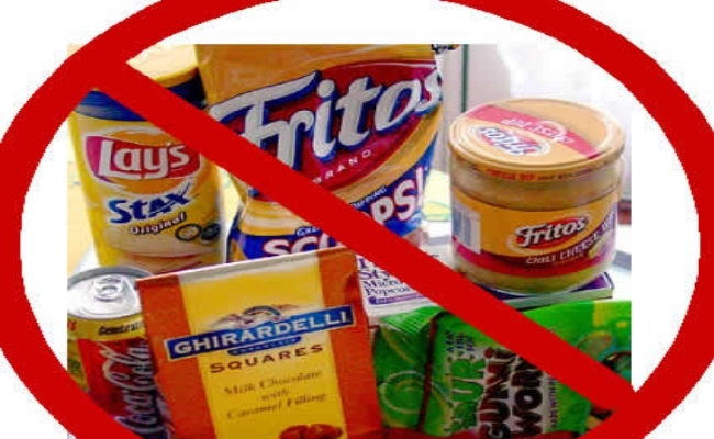 Always Say No to Processed Foods